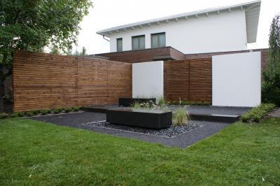 Kombi aus Beton und Holz